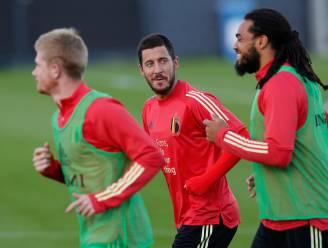"""Martínez sluit terugkeer Eden Hazard niet uit: """"We koesteren hoop"""" - Witsel en Meunier geschorst voor Denemarken"""