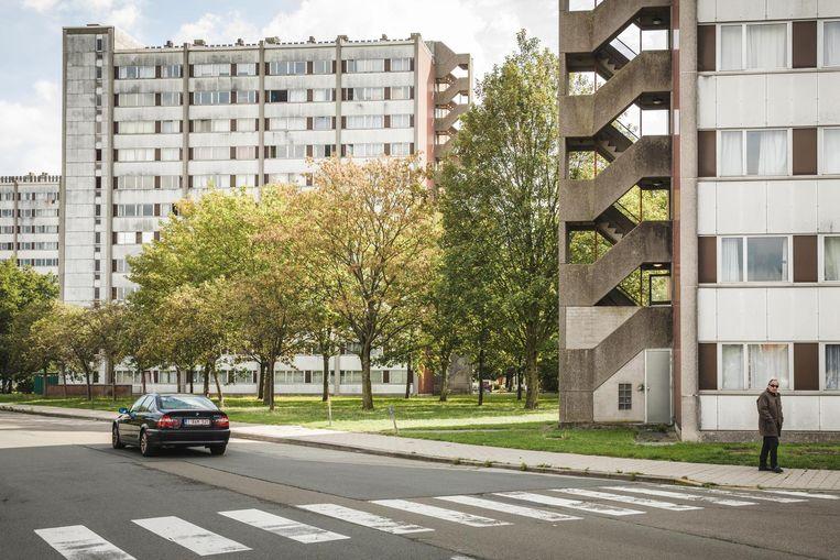 Sociale woningen in Gent. Door de verplichte nieuwe manier van huurprijsberekening zullen heel veel huurders meer moeten betalen