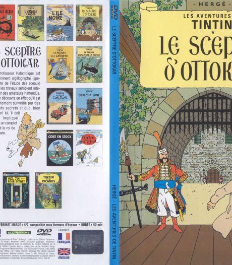 Une planche originale de Tintin retrouvée derrière un meuble