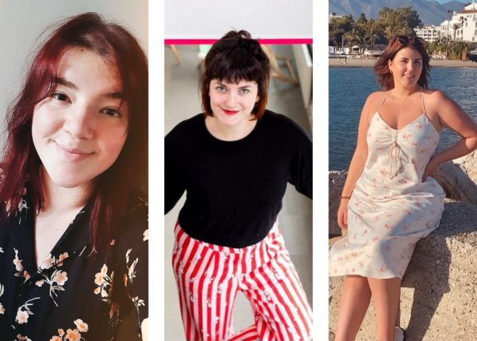 Laura, Eva en Manon.