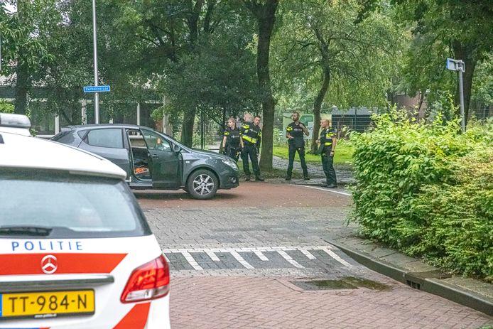 Politieonderzoek na de schietpartij op de hoek van de Zerboltstraat en de De Voochtstraat in Zwolle. Schutter R.P. is veroordeeld tot drie jaar cel.