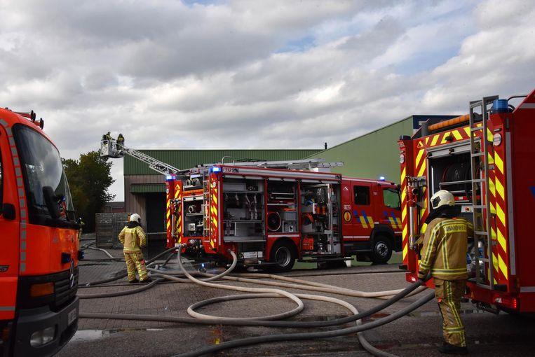 Een interventie van de brandweerpost Hoogstraten bij het voormalige Friswit enkele weken geleden.