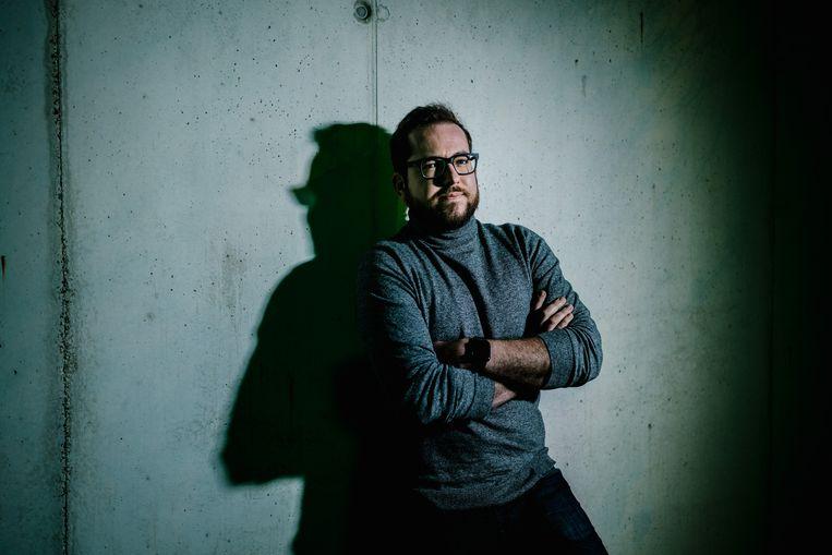 Matthias Dobelaere - Welvaert, privacyjurist Beeld Wouter Van Vooren