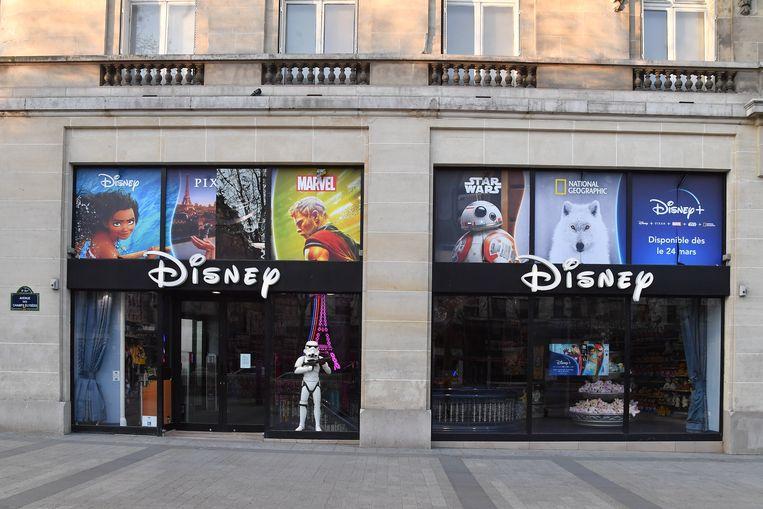 Disneyland ligt in het gebied Val d'Europe, dat tien gemeenten omvat. De belastinginkomsten van die streek komen voor 75 procent uit het toerisme. Beeld Corbis via Getty Images