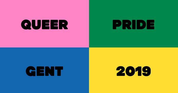 Het was de eerste editie van Queer Pride Gent.