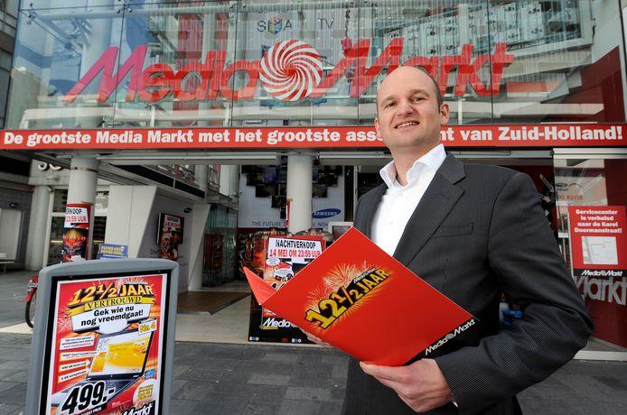 Directeur Arnold Sporrel van Mediamarkt.