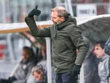 NAC-trainer Steijn maakt zich niet druk om de kou: 'Zorgen dat we het warm krijgen van het spel'