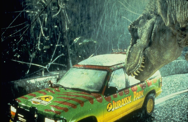 'Jurassic Park' domineert na bijna dertig en 45 jaar weer de Amerikaanse bioscooplijsten. Beeld ANP Kippa