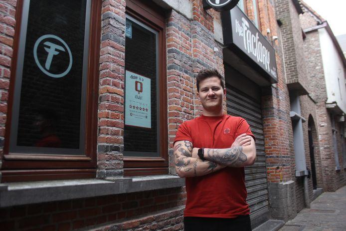 Dean Janssens is de nieuwe uitbater van The Factory.