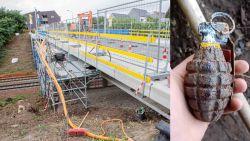 """Arbeider treft granaat aan bij werken in Groot-Bijgaarden: """"Geschrokken? In Oost-Europa zijn we meer gewoon"""""""