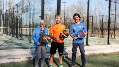 Nieuwe padelterreinen voor tennisclub Hof ter Burst
