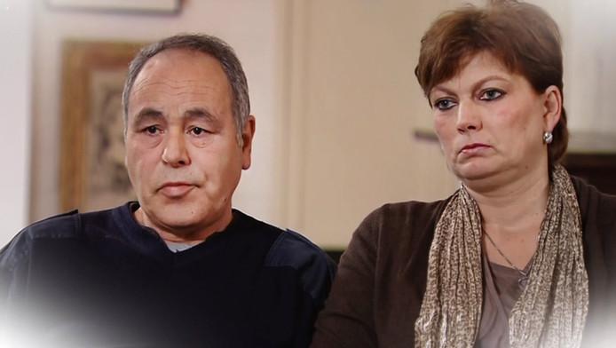 Marijke en Ab Groeneweg, de ouders van Leon.