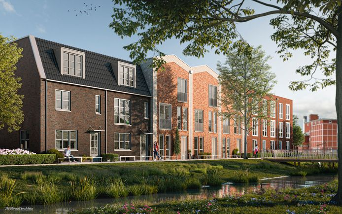 De luxere woningen komen aan de kant van de Veldbeek, waar een wandelpad langs wordt gelegd. Via de brug kunnen wandelaars naar fase 2 en 3 van het nieuwbouwplan.