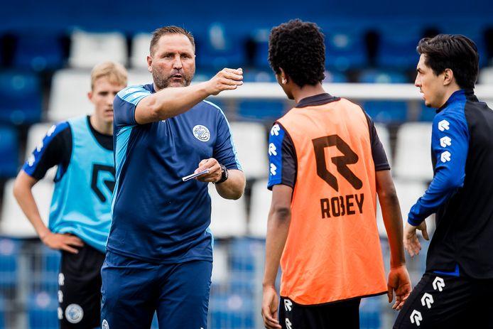 Scott Calderwood is deze week aan de slag gegaan als assistent-trainer bij FC Den Bosch.