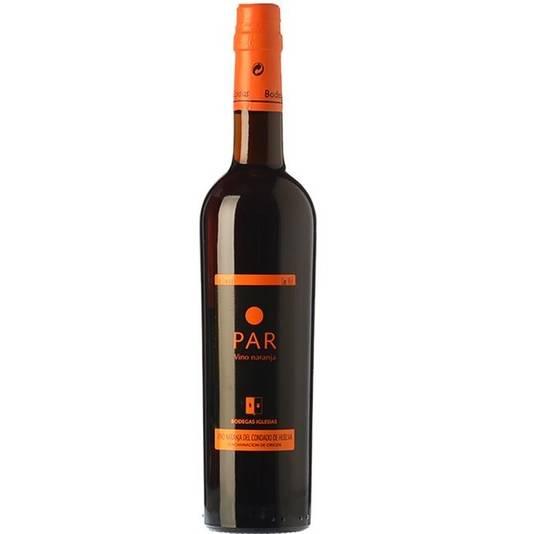 Iglesias PAR wordt gemaakt door een zoete geurige wijn in contact te laten komen met de zongedroogde schil van de bittere sinaasappel uit de Doñana-streek. Deze wijn blijft zo minimaal 8 jaar in de vaten van de kelders van Bodegas Iglesias, zodat de wijn de aroma's van het fruit krijgt.