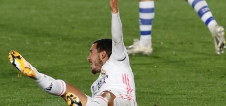 Eden Hazard absent de la sélection du Real pour aller au Shakhtar