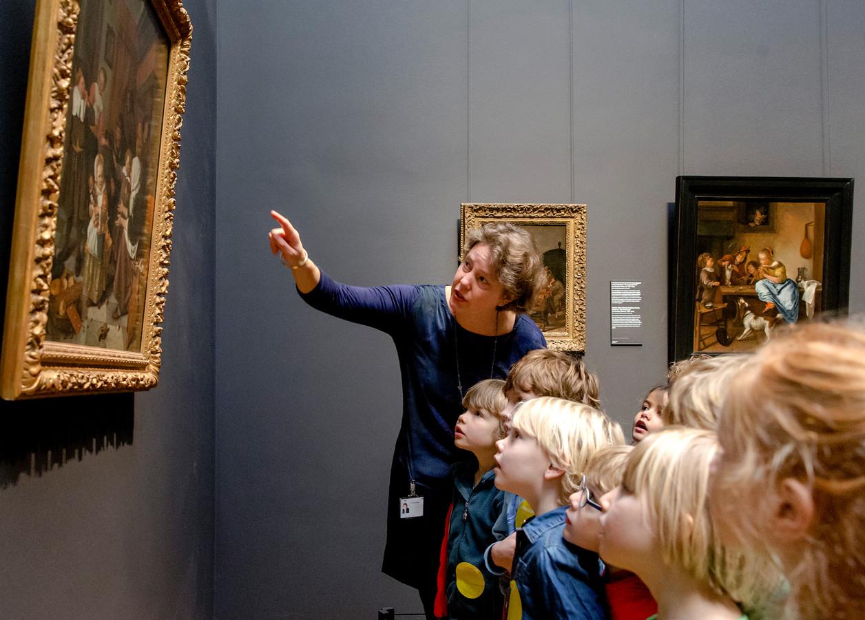Ook een bezoek aan het Rijksmuseum staat op de rol voor de kinderen van de Heusdense basisscholen.
