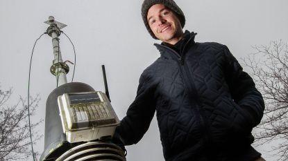 Nicolas Roose is vaste weerman in Waregem én Zulte