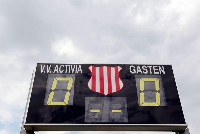 1-0 voor Activia. Vanaf volgend seizoen wordt de club officieel een Voorster voetbalvereniging.