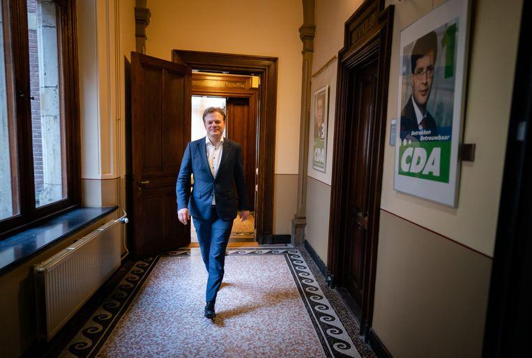 Pieter Omtzigt in het gebouw van de Tweede Kamer, juni vorig jaar. Beeld Hollandse Hoogte /  ANP