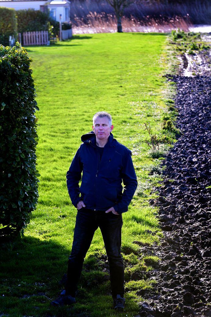 Klaas Smit, eigenaar van camping Markdal ziet snel geld verdienen met de huisvesting van arbeidsmigranten of seizoensarbeiders niet zo zitten.