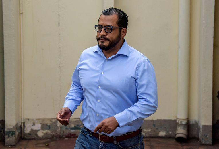 De Nicaraguaanse presidentskandidaat Félix Maradiaga. Beeld AFP