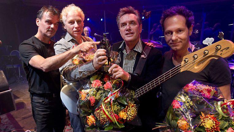 Doe Maar won in oktober 2012 de Edison POP Oeuvreprijs Beeld anp