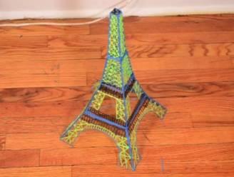 Nieuwste gadget: pen die 3D-Eiffeltorens tekent