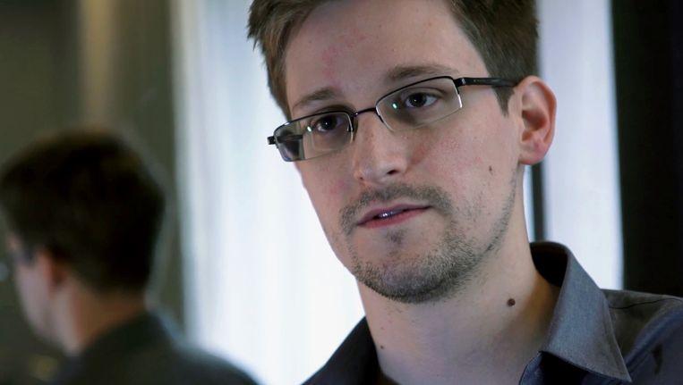 De Amerikaanse klokkenluider en voormalig CIA-medewerker Edward Snowden. Beeld AP