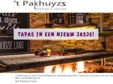 Horecazaak 't Pakhuyzz in Schijndel is definitief gesloten