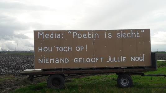 In december 2017 zette Hugo Jansen zijn derde en vooralsnog laatste pro-Rusland-billboard langs de A4.