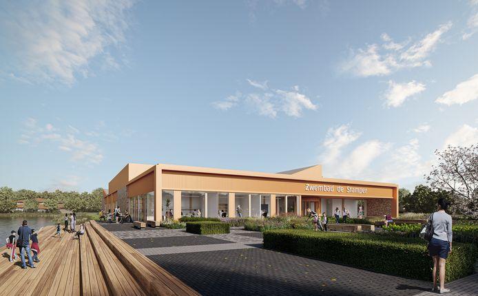 Zo komt het nieuwe zwembad van Vriezenveen eruit te zien.
