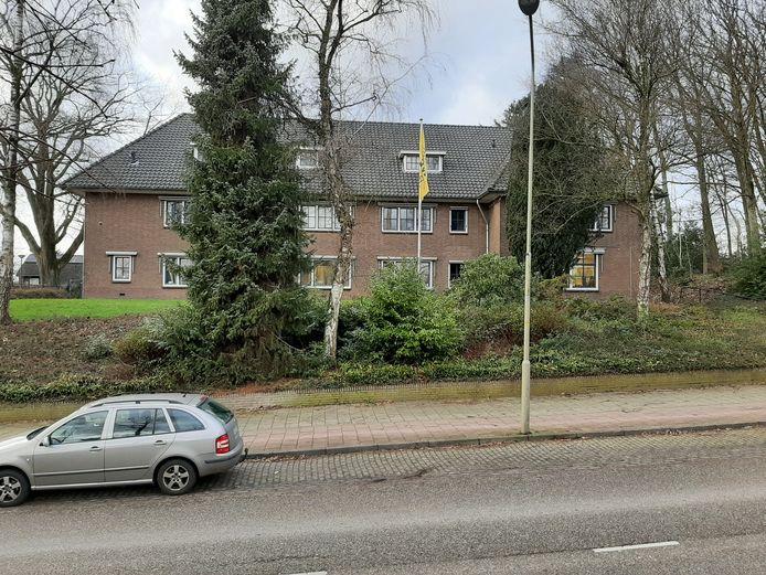 Het oude politiebureau in Groesbeek.