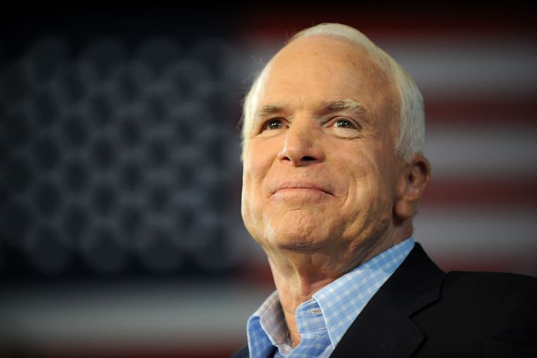 John McCain Beeld AFP
