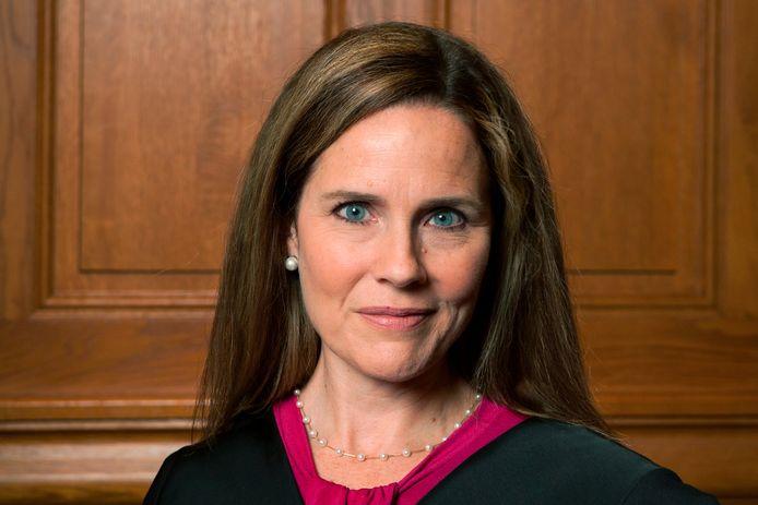 Amy Coney Barrett wordt mogelijk de opvolger van Ruth Bader Ginsburg.