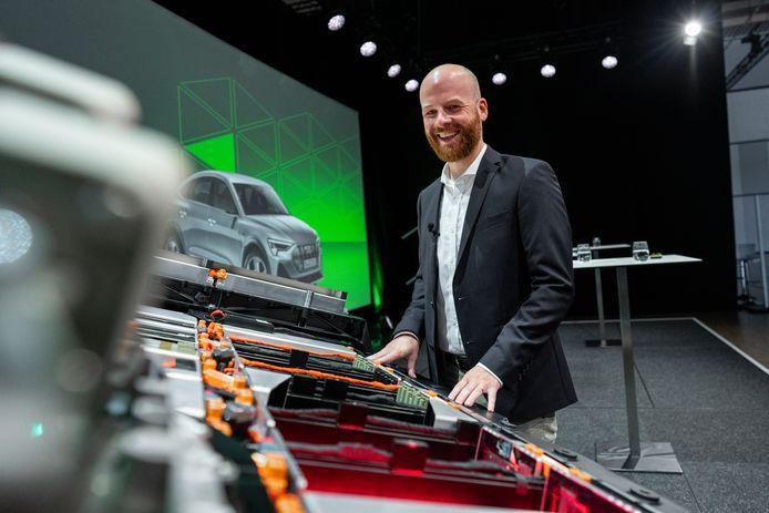 Batterijontwikkelaar Frank Kindermann