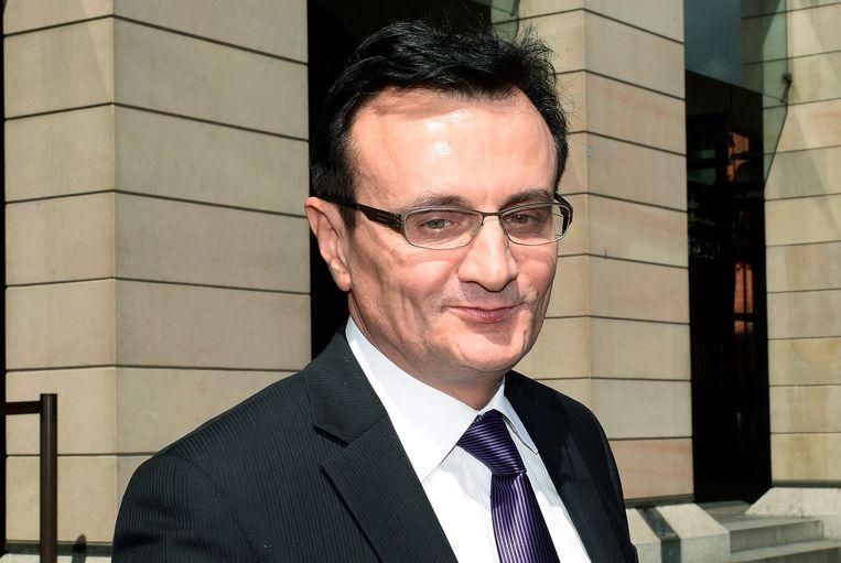 Pascal Soriot, topman van farmaceut AstraZeneca. Beeld EPA