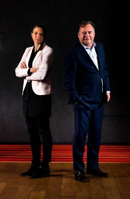 Sabine Zondag en Hans Biesheuvel