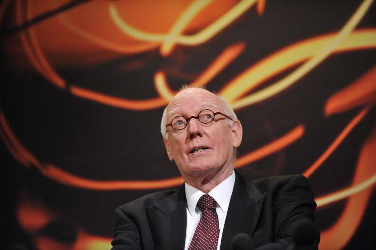 Jan Mans in 2010 als burgemeester van Maastricht. Beeld ANP