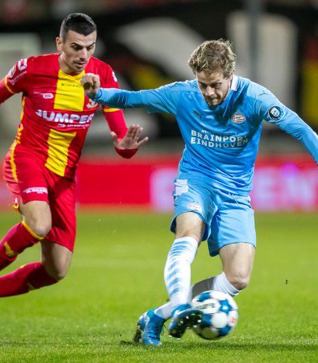 LIVE   Doelpunt Beukema voorlopig hoogtepunt in gezapig duel GA Eagles - Jong PSV