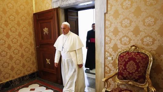 Paus Franiscus in Letland