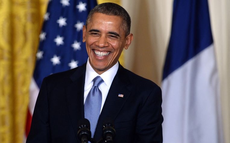 Barack Obama is woensdag 60 jaar geworden. Beeld AFP