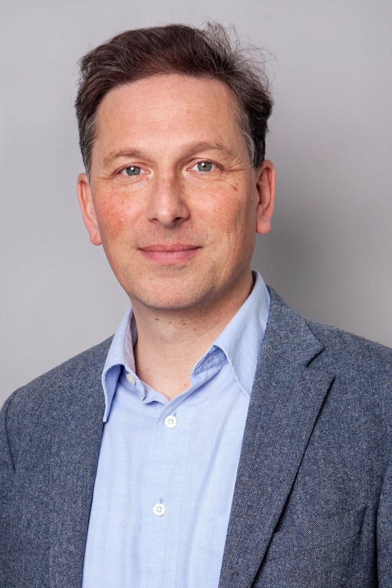 Alexander Kohnstamm, directeur van Fair Wear Foundation, een organisatie die zich bezighoudt met arbeidsrechten in de textielindustrie. Beeld Fair Wear Foundation