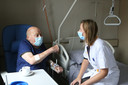 De patiënten van Eline Van Hove zijn nu verspreid over de verschillende campussen.