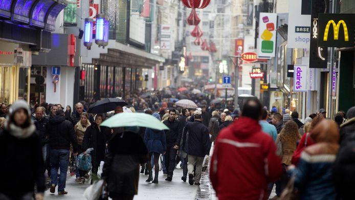 De Brusselse Nieuwstraat.