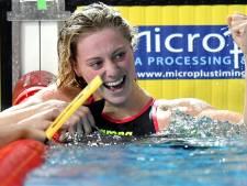 Nederlandse zwemsters delen goud met Frankrijk op 4x50 vrij