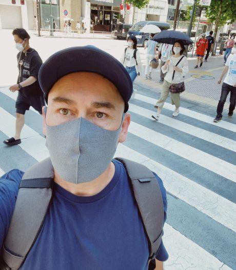 Utrechter Dustin (49) woont 13 jaar in Tokio: 'Ze werkten jaren naar Spelen toe, maar enthousiasme voel ik niet'
