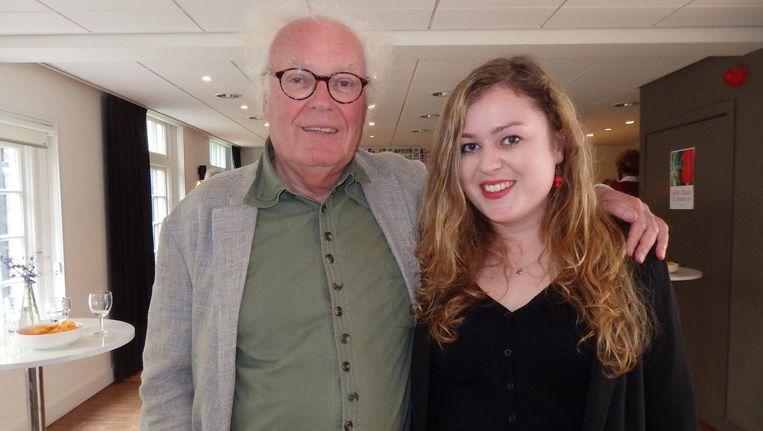 Vader Henk en dochter Sophie Spaan Beeld Schuim