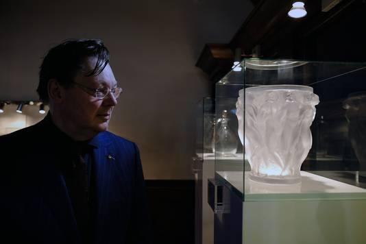 Santino Melssen van het Lalique museum.