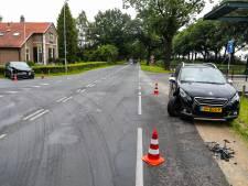 Botsing op 'dodenweg' Apeldoorn; geen gewonden wel flinke vertraging voor verkeer